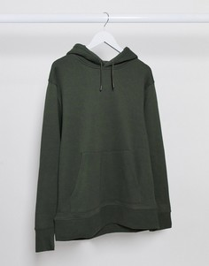 Худи цвета хаки Topman-Зеленый