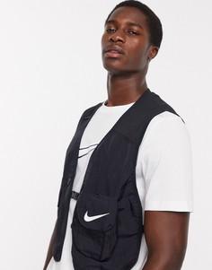 Черный жилет Nike Football