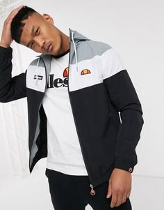 Черная спортивная куртка ellesse-Черный