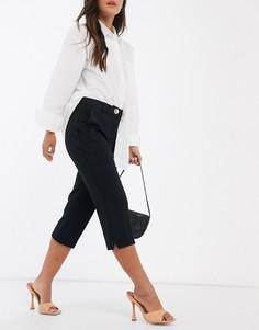 Черные брюки каприRiver Island-Черный
