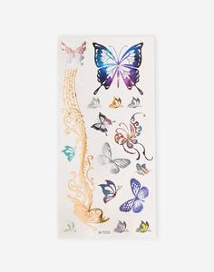 """Набор переводных татуировок """"Бабочки"""" Gloria Jeans"""