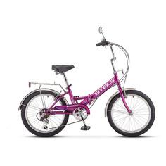 """Велосипед Stels Pilot 350 городской рам.:13"""" кол.:20"""" фиолетовый 15.6кг (40062-01)"""