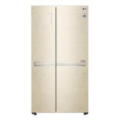 Холодильник LG GC-B247SEDC, двухкамерный, золотистый