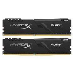 Модуль памяти KINGSTON HyperX FURY Black HX437C19FB3K2/16 DDR4 - 2x 8ГБ 3733, DIMM, Ret