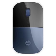 Мышь HP Lumierre Z3700, оптическая, беспроводная, USB, синий и черный [7uh88aa]