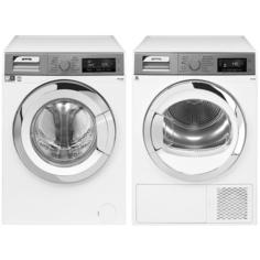 Комплект стиральной и сушильной машины Smeg WHT1114LSRU-1 + DHT83LRU