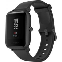 Смарт-часы Amazfit Bip S Carbon черный Xiaomi