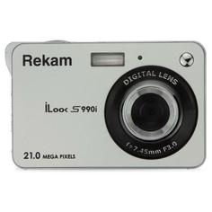 Фотоаппарат компактный Rekam iLook S990i Silver Metallic