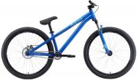 Городской велосипед Stark Pusher-1 Single Speed L/2020, голубой/синий (H000014805)
