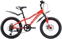 Велосипед подростковый Stark Rocket 20.1 D 2020, красный/белый/серый (H000016398)