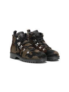 Gallucci Kids камуфляжные ботинки