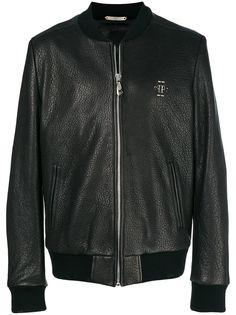 Philipp Plein куртка-бомбер с логотипом
