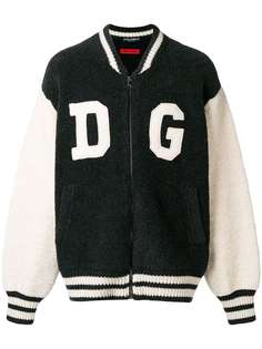 Dolce & Gabbana куртка-бомбер с заплатками