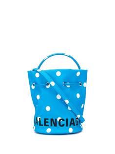 Balenciaga сумка-ведро Wheel XS с кулиской