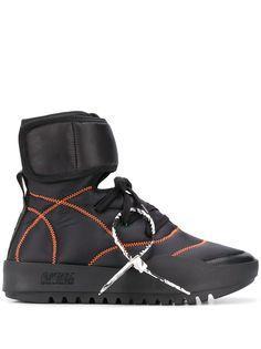 Off-White высокие кроссовки CST-100