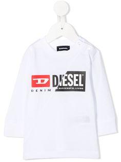 Diesel Kids футболка с логотипом