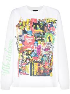 We11done футболка с принтом