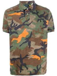 Polo Ralph Lauren рубашка поло с камуфляжным принтом