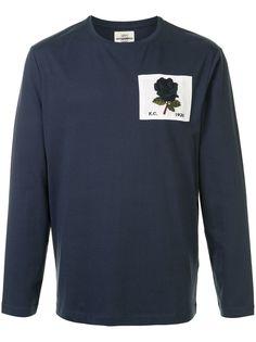 Kent & Curwen футболка с длинными рукавами и нашивкой