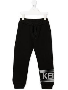 Kenzo Kids спортивные брюки с логотипом