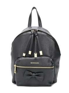 Monnalisa рюкзак на молнии с логотипом