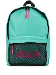 MSGM рюкзак с логотипом
