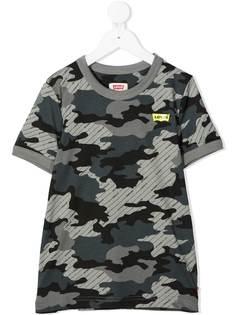 Levis Kids футболка с камуфляжным принтом