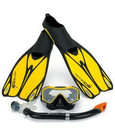 Набор Osprey Dive ADS (маска,трубка,ласты) Yellow - 38,0/39,0 EUR