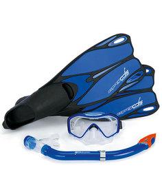 Набор Osprey Dive ADS (маска,трубка,ласты) Blue - 38,0/39,0 EUR