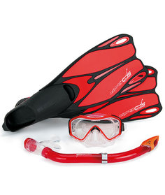 Набор Osprey Dive ADS (маска,трубка,ласты) Red - 38,0/39,0 EUR