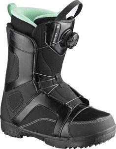 Ботинки сноубордические Salomon 19-20 Anchor W Black/Opal - 41,5 EUR