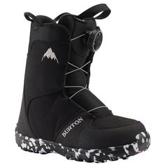 Ботинки сноубордические Burton 19-20 Grom Boa Black - 29,0 EUR