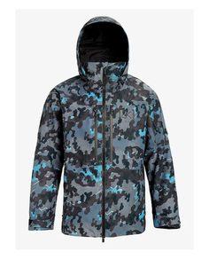Куртка для сноуборда Burton 19-20 M Ak Gore Swash Jk Slate Shelter Camo - M