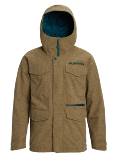 Куртка для сноуборда Burton 19-20 M Covert Jk Slim Kelp Heather - S
