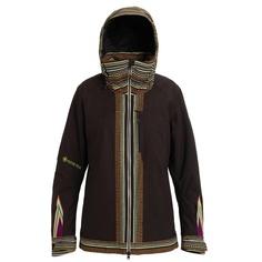 Куртка для сноуборда Burton 19-20 W Ak Gore Embark Jk Blackburn Geo - S