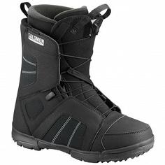 Ботинки сноубордические Salomon 18-19 Titan Black - 43,0 EUR