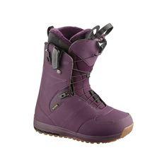 Ботинки сноубордические Salomon 17-18 Ivy Bordeaux - 38,0 EUR