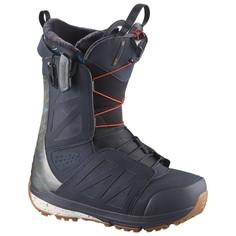 Ботинки сноубордические Salomon 17-18 Hi-fi Wide Navy/Camo - 44,5 EUR