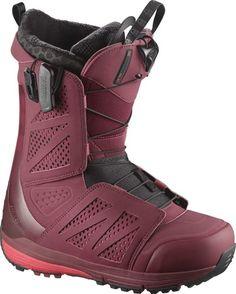 Ботинки сноубордические Salomon 17-18 Hi-fi Burgundy/Pomegranate - 44,5 EUR