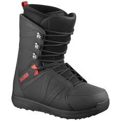 Ботинки сноубордические Salomon 19-20 Faction Rtl Lace Black/Red - 42,5 EUR