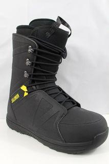 Ботинки сноубордические Salomon 19-20 Faction Rtl Lace Black/Yellow - 43,0 EUR