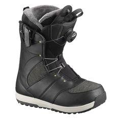 Ботинки сноубордические Salomon 18-19 Ivy Boa SJ Black - 38,5 EUR