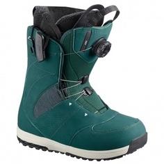 Ботинки сноубордические Salomon 18-19 Ivy Boa SJ Deep Teal - 37,0 EUR