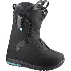 Ботинки сноубордические Salomon 17-18 Ivy Black - 38,5 EUR