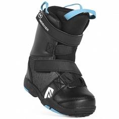 Ботинки сноубордические Nidecker 18-19 Micron Mini Black - 29,5/30,5 EUR