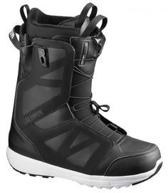 Ботинки сноубордические Salomon 19-20 Launch Black/White - 43,5 EUR