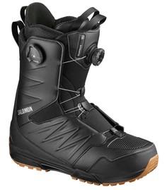 Ботинки сноубордические Salomon 19-20 Synapse Focus Boa Black/Gum3 - 44,5 EUR