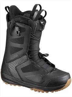 Ботинки сноубордические Salomon 19-20 Dialogue Black/Gray Violet - 44,5 EUR