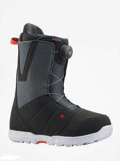 Ботинки сноубордические Burton 19-20 Moto Boa Gray/Red - 43,0 EUR