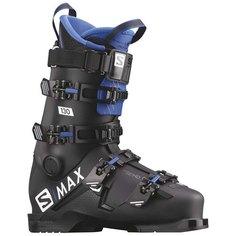 Ботинки горнолыжные Salomon 19-20 S/Max 130 Black/Race Blue - 27,0/27,5 см